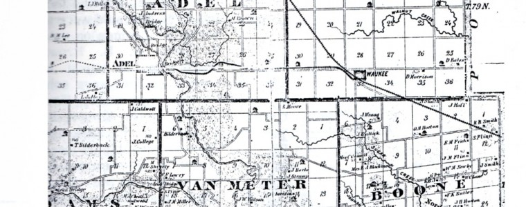 1879 County Map
