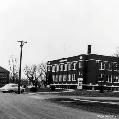 The 1901 and 1917 school.