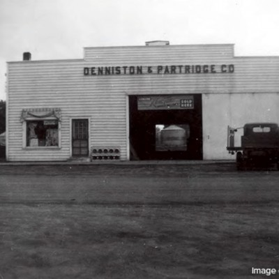 Denniston & Partridge Co., the lumberyard.