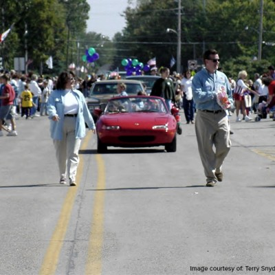 The 2009 Fall Festival Parade.