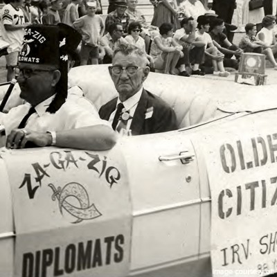 Ive Shoeman was honored as the oldest Waukee citizen in 1969. He was 87.