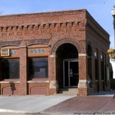 The old Waukee Bank was converted into a bar.
