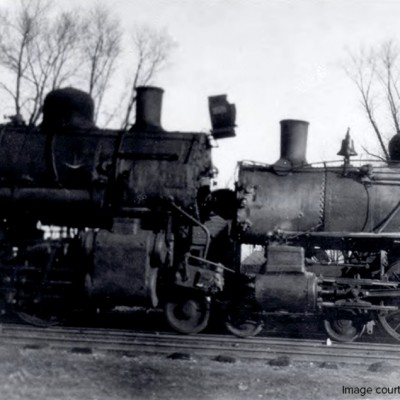 A train wrecked in Waukee.